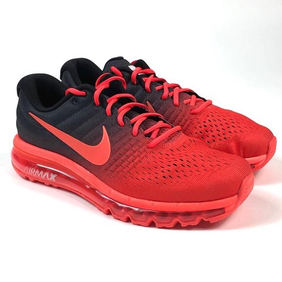 Nike Air Max 2017 Bright Crimson Size 11.5 Men's